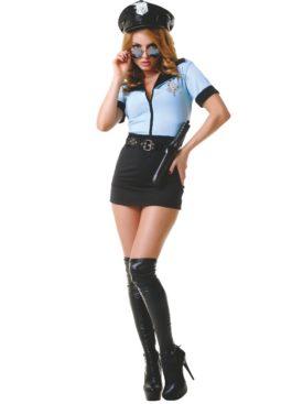 LE FRIVOLE - 02232 DISFRAZ POLICIA 5 PIEZAS S/M