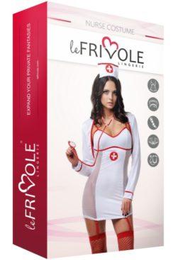 LE FRIVOLE - 02796 DISFRAZ ENFERMERA 5 PIEZAS S/M