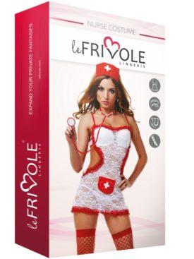 LE FRIVOLE - 02803 DISFRAZ ENFERMERA 4 PIEZAS S/M LE FRIVOLE DISFRACES