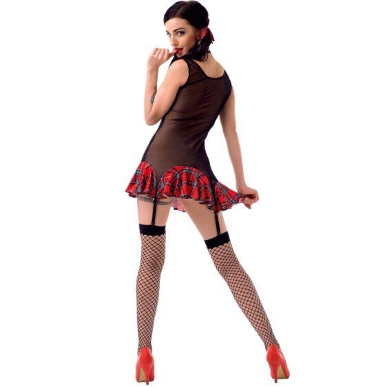 LE FRIVOLE - 02916 SEXY SCHOOLGIRL COSTUME FOUR PIECES S/M