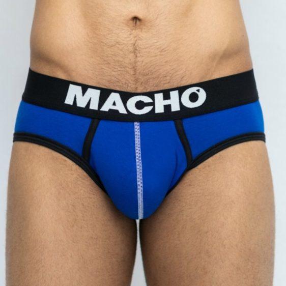 MACHO - MS129 UNDERWEAR BLUE SIZE S