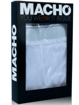 MACHO UNDERWEAR MACHO - MS129 CALZONCILLO CORTO AZUL TALLA S