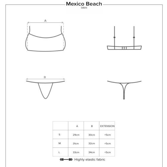 OBSESSIVE - MEXICO BEACH BIKINI ROSA S OBSESSIVE SUMMER
