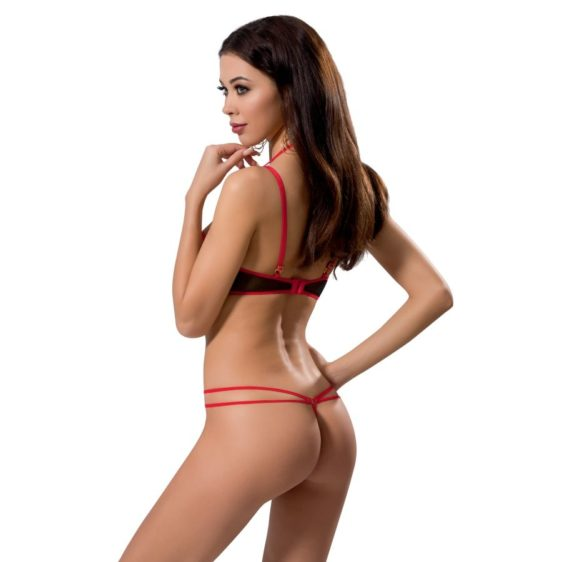 PASSION WOMAN HERA BLACK AND RED SET S/M