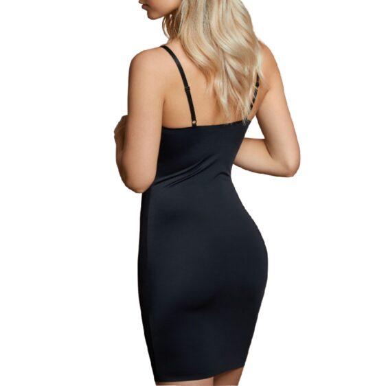 BYE BRA INVISIBLE SINGLE DRESS - BLACK S