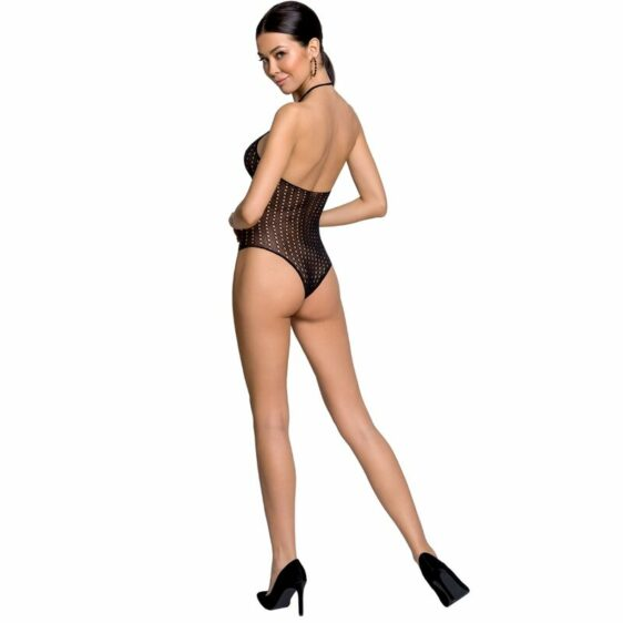 PASSION WOMAN BS088 BODYSTOCKING - BLACK ONE SIZE